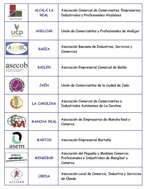Asociaciones comarcales y locales